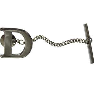 Letter D Tie Tack